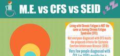 Fantastic infographic: ME vs CFS vs SEID