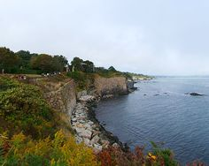 Newport, Rhode Island! The amazing cliffs