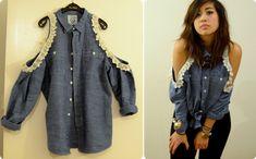 La alteración de la camisa (DIY) / Camisas / segunda calle