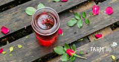 jar of rose infused witch hazel on a wooden pallet with fresh rose petals and leaves The Effective Pictures We Offer You About diy body care recipes A quality picture can tell you many things. Soap Making Kits, Soap Making Recipes, Homemade Soap Recipes, Homemade Facials, Fresh Rose Petals, Natural Exfoliant, Witch Hazel, Goat Milk Soap, Health And Beauty Tips