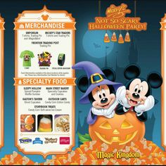 (Article last updated: September 1, 2014) There are several special events offered throughout the year at Disney World and 1 of those is Mickey's Not So Scary Halloween Party (MNSSHP) where people get dressed up in costume and attend special activities that are only offered at this party...