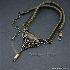 Strukova Elena - авторские украшения - Были они смуглые и золотоглазые....