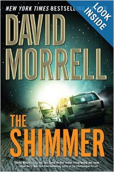 """The Shimmer"" by David Morrell: This book reminds me why I don't read Sci-Fi.  It's a mystery about a mysterious light in Texas and its strange hold on some - but not all - folks."