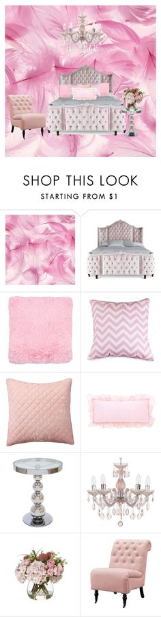 """""""princess room"""" by black-on-white ❤ liked on Polyvore featuring interior, interiors, interior design, home, home decor, interior decorating, Haute House, Dot & Bo, Pottery Barn and Home Decorators Collection"""