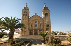 Cathedral in Maseru, Lesotho. BelAfrique your personal travel planner - www.BelAfrique.com