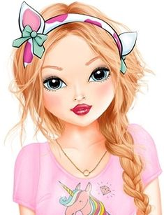 Christy Balloon Illustration, Illustration Girl, Barbie Images, Girly M, Lovely Girl Image, Digital Art Girl, Cute Friends, Girl Cartoon, Fashion Sketches