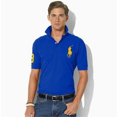 d0907d452848 Welcome to our Ralph Lauren Outlet online store. Ralph Lauren Mens Big Pony  Polo T