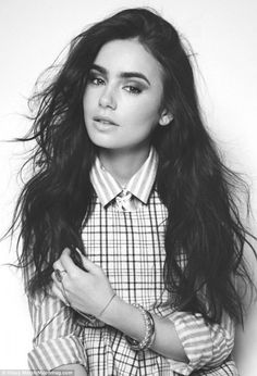 lily collins. girl crush with the perfect eyebrows