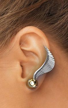 Harry Potter Golden Snitch Ear Climbers