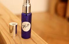 Deo sprej s panthenolem   Kosmetika hrou Mouthwash, Body Spray, Deodorant, Water Bottle, Drinks, Diy, Sprays, Drinking, Beverages