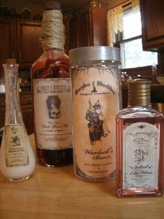 halloween apothecary jar labels - Google Search