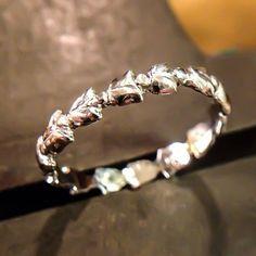 Tulip Ring platinum 950 by ruiandaguri on Etsy, $500.00