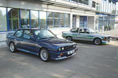 Alpina BMW #E30 M3 with 3,5-L. The 323i E21 with 200bhp was already revolutionairy...