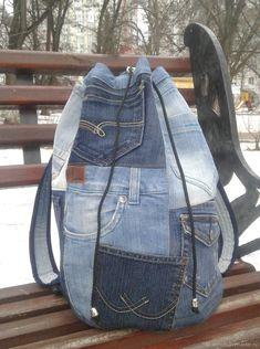 Рюкзак джинсовый Bullhead – купить в интернет-магазине на Ярмарке Мастеров с доставкой