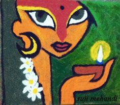 Easy Rangoli Designs Diwali, Simple Rangoli