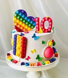 Birthday Cakes Girls Kids, Butterfly Birthday Cakes, Cakes For Boys, Pokemon Birthday Cake, Paw Patrol Birthday Cake, 9th Birthday, Margarita Party, Harry Potter Cake, Ballerina Birthday