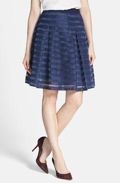 Organza Stripe Skirt