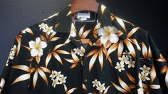 LARGE /cotton Hawaiian shirt  / shirt Hawaiian /  /  by ITSYOYEEN, $17.00