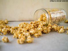 Caramel Popcorn Recipe | Cook . Snap . Savour  80g Hot Air Popcorn Kernels   6 tbsp (84g) Unsalted Butter, plus more for the pan   3/4 cup (110g) Brown Sugar, unpacked   1/4 tsp Salt   3 tbsp Water