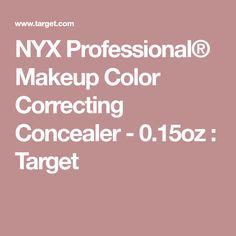 NYX Professional® Makeup Color Correcting Concealer - 0.15oz : Target
