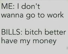 Money, money, money.
