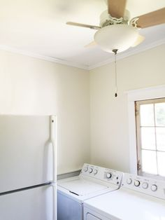 The finished product! Laundry Room, Cottage, Laundry Rooms, Cottages, Cabin, Farmhouse, Laundry