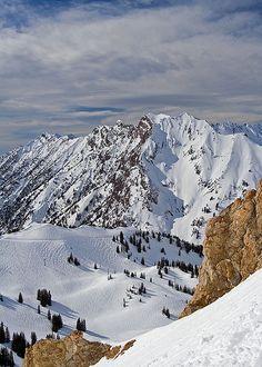 Alta Ski Resort, Utah.