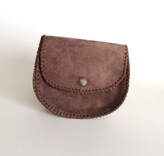 Wallets – Leather Coin Bag, Change Purse with – a unique product by Periay on DaWanda