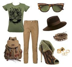 """""""Here Kitty Kitty"""" by lilkittin77 on Polyvore featuring Veronica Beard, Olive, Chan Luu, Vivienne Westwood Anglomania, Maison Michel and Pieces"""