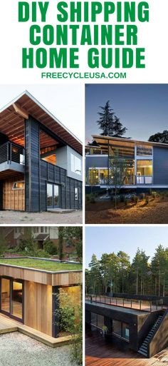 Best Online Shipping Container Home Building Guide. #shippingcontainer #shippingcontainerhouse