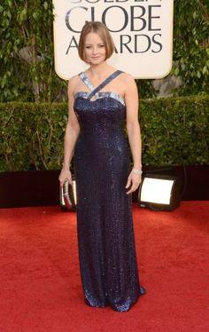 Golden Globes 2013 - Jodie Foster in Giorgio Armani | More lusciousness at mylusciouslife.com