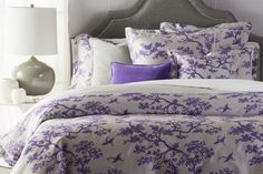 """Surya has introduced bedding from Australian designer Florence Broadhurst featuring her incredible patterns, like """"The Cranes"""". This duvet set includes one duvet and two standard shams. King Duvet Set, Duvet Sets, California King Duvet Cover, Floral Bedding, Bedding Sets Online, Accent Furniture, Bedroom Colors, Bed Sheets, Duvet Covers"""