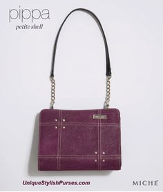 Unique Stylish Purses | Miche Bags: Miche Pippa Purple Petite Shell