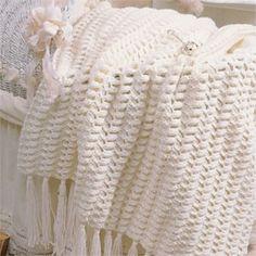 Downy Dream Baby Afghan Crochet ePattern