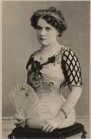 Born in Basle, Switzerland, in 1884, Gabrielle Fuller first joined the circus at the Paris Exposition in 1900. She travelled with the Ringling Brothers Circus and appeared at Coney Island's Dreamland sideshow. She was married at least twice, once to a man named John de Fuller. She had a perfectly formed upper body which ended smoothly just below the waist.