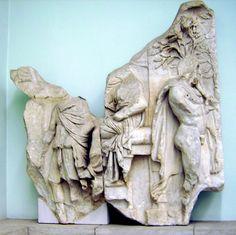 Dal Fregio minore di Telefo: Eracle vede la sua figlia Auge in un tempio.