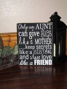 Sister Gift, Aunt Gift, Personalized Gift, Mothers Day Gift on Etsy, $27.18 CAD