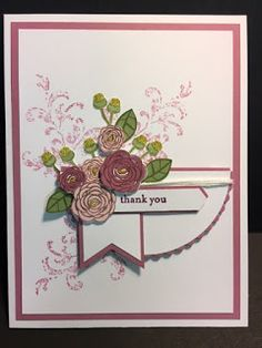 My Creative Corner!: Happy Birthday Gorgeous, Timeless Textures, Teeny Tiny Wishes, Thank You Card