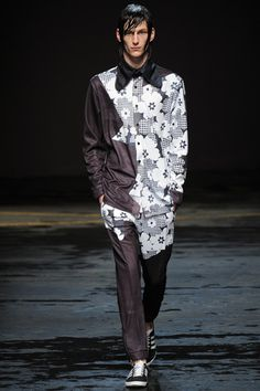 Christopher Shannon Fall 2014 Menswear Collection Slideshow on Style.com