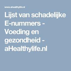 Natuurlijk Verdikkingsmiddel E407 Carrageen.  Lijst van schadelijke E-nummers - Voeding en gezondheid - aHealthylife.nl