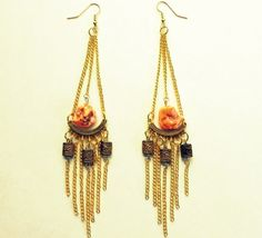 Nemesis Earrings by PLUMEUPHORIA on Etsy, $13.00
