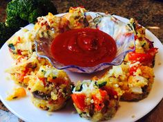Food Fitness by Paige: Quinoa Pizza Bites
