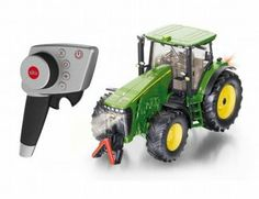 The John Deere RC Tractor from the Siku RC Tractor range - Discounts on all Siku Diecast Models at Wonderland Models. Lego T Shirt, Siku Farmer 1 32, Siku Control 32, Rc Tractors, Rc Radio, Led Manufacturers, Heavy Machinery, Rc Model, Diecast Models