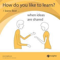 How do you like to learn? Sunshine Yellow colour energy