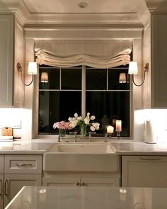 17 Stunning Bay Window Ideas for You and Your Family – TSP Home Decor,Find more ideas: DIY Living Room Bay Window Ideas Kitchen Bay Window Exterior Small Bay Window Treatments Seat Farmhouse Bay Window Lounge Large Bedro. Kitchen Redo, New Kitchen, Kitchen Sinks, Kitchen Living, Kitchen Cupboard, Summer Kitchen, Kitchen Tables, Kitchen Paint, Living Rooms