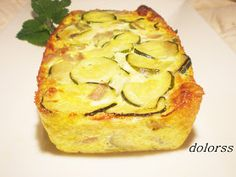 Blog de cuina de la dolorss: Pastel de calabacín y queso