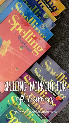Spelling Workout for EFL Learners