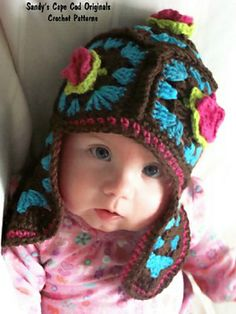 Ravelry: Not Your Granny's Earflap Hat pattern by Sandy Powers