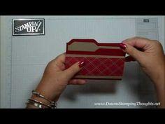 ▶ File Folder card & insert with Dawn - YouTube
