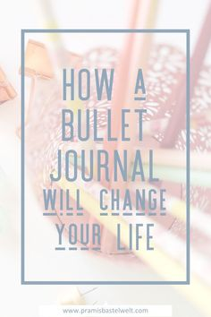 What is a bullet journal? When I first heard the term bullet journal i asked myself what that is. As I researched about this topic I found something awesome, I really love now! | #bulletjournal #journaling #planning #to-do #organizing |